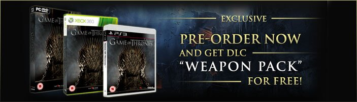 PRE-ORDER THE GAME AND GET A FREE WEAPON PACK!